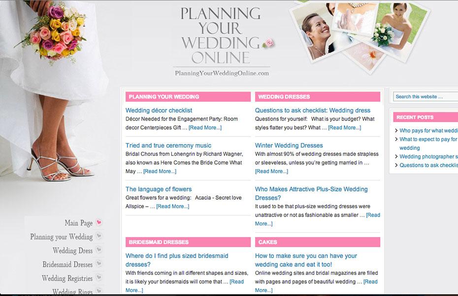planningyourweddingonline